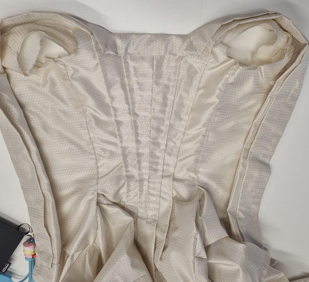 c.1740s mantua replica by the Georgian Costume Company 1024x936 - Edinburgh 1971.419 c.1740s Mantua